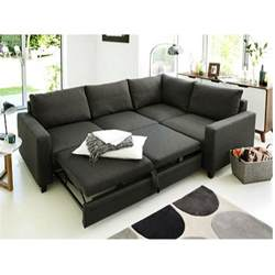 corner sofa bed hygena seattle right corner sofa bed charcoal at