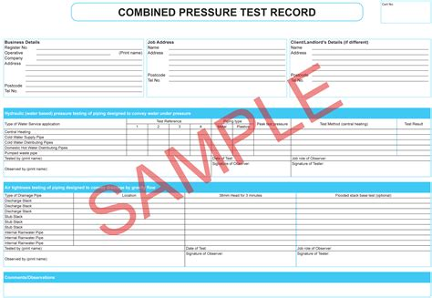 Certificates Everycert Pressure Vessel Inspection Report Template