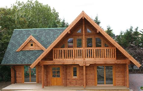 L Shaped Houses by Portsmouth Log House 3 Bedroom From New Forest Log Cabins