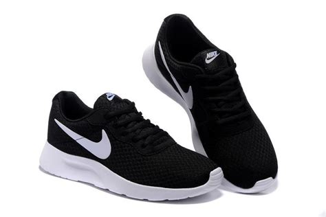 clearance womens athletic shoes s nike tanjun black white running shoes outlet