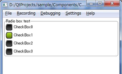 qt layout box qml qt でラジオボタン的なもの とグループボックス を作る 理ろぐ