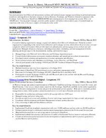 sharepoint administrator resume sample