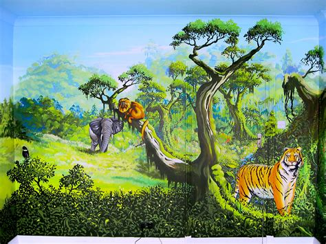 safari wall mural 28 jungle trees wall murals pictures jungle trees wall murals pictures to pin on
