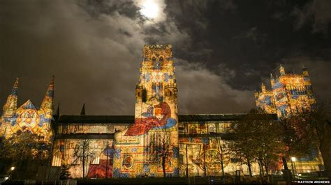 lights durham in pictures durham lights up for third lumiere festival