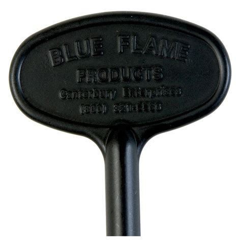 gas key for fireplace blue 3 in universal gas valve key in flat black bf