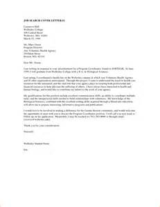 Cover Letter Exles It by 5 Cover Letter Exles For Any Basic Appication Letter