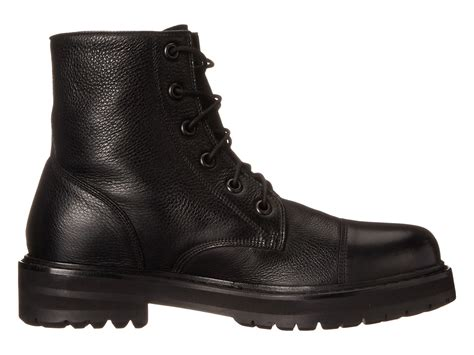 mens black cap toe boots lyst marc cap toe boot in black for