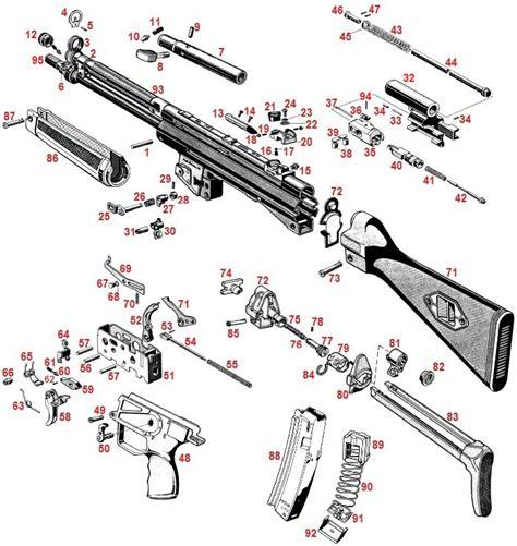 mp5 diagram hk mp5 parts