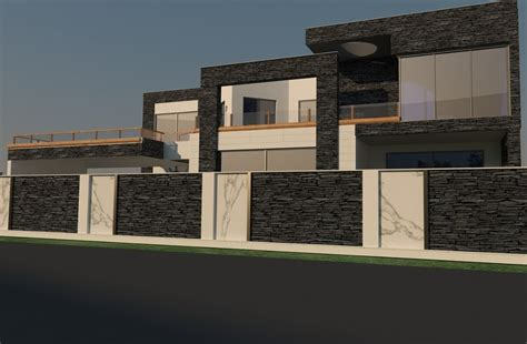 image result for house boundary wall design in kerala