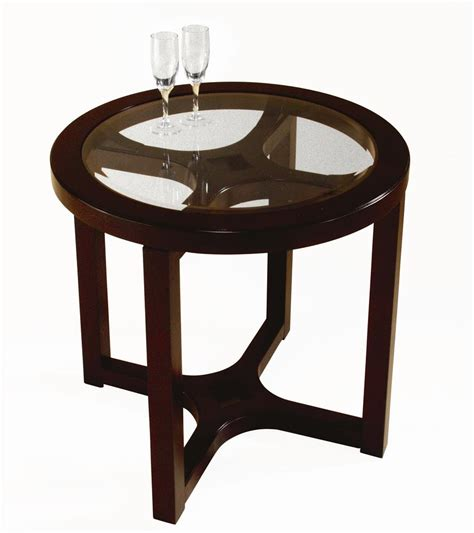 glass accent tables furniture round circles tier chrome metal and glass accent tables morgan round glass end table