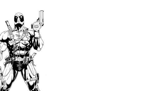 black and white marvel wallpaper deadpool marvel superhero comics hero warrior action