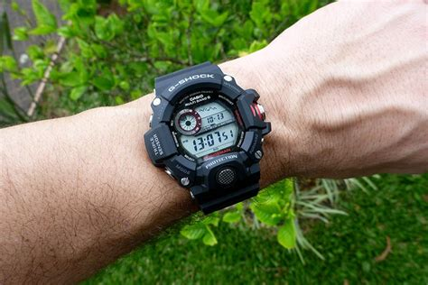 Casio G Shock Gw 9400 1 Black s casio g shock rangeman black rubber gw 9400 1er e oro gr casio watches