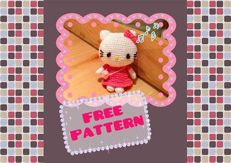 pattern crochet hello kitty hello kitty crochet pattern free snacksies handicraft