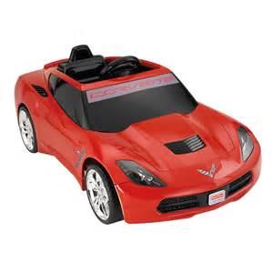 Power Wheels Fisher Price Power Wheels Corvette Battery Powered