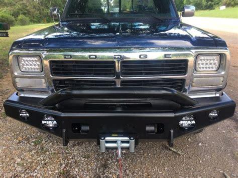 dodge ram d250 for sale 1992 dodge w250 d250 4x4 cummins diesel ram 2500 for sale