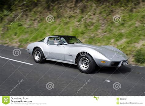 vintage corvette stingray chevrolet corvette stingray coupe editorial photography