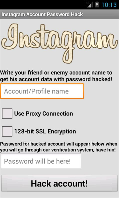 instagram hacker apk instagram hack password account apk for free on getjar