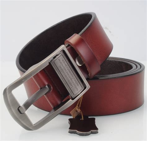 2016 new product mens belts luxury 100 genuine leather