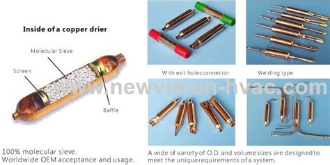 Dryer Filter Saluran Freon R 134a Ac Mobil Daihatsu Taft Gt Rocky New copper strainer and muffler for refrigerator appliance from china manufacturer new vision