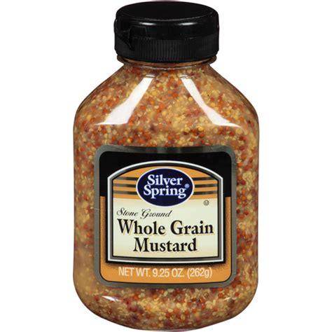 whole grain mustard silver ground whole grain mustard 9 25 oz