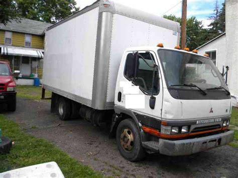 mitsubishi fuso box truck mitsubishi fuso 2003 van box trucks