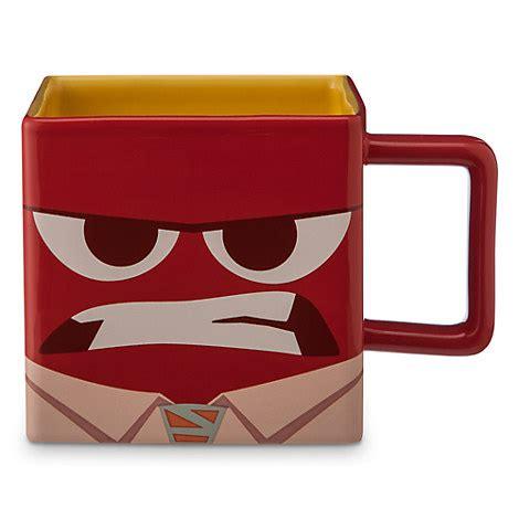 Disney Sketchbook Ceramic Cup No Handle - anger mug disney pixar inside out drinkware disney store