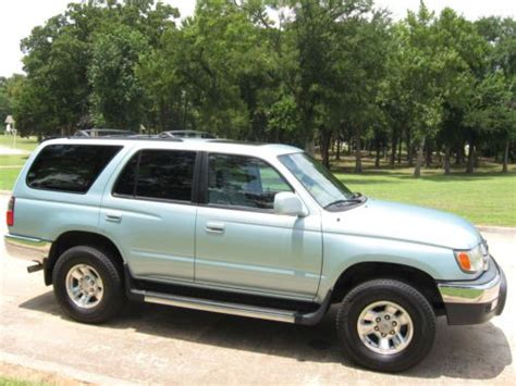manual cars for sale 2001 toyota 4runner electronic throttle control purchase used 1998 toyota 4runner sr5 automatic 2wd good vehicle no reserve in cleveland