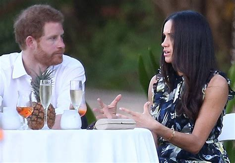prince harry and meghan markle rendezvous in jamaica for meghan markle looked gorgeous alongside prince harry at