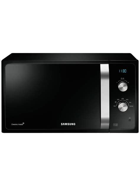 samsung ms23f301eak microwave black at lewis partners