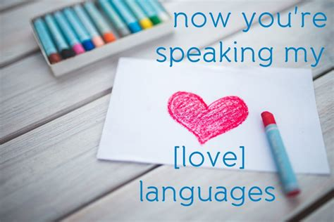 youre speaking  love language  ideas  show