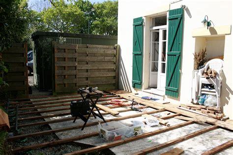 épaisseur D Une Dalle De Terrasse 3268 by Construction Dune Terrasse En Bois Construction Dune