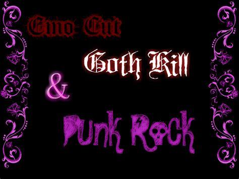 imagenes emo punk rock emo cut goth kill and punk rock by deathnote1qa on