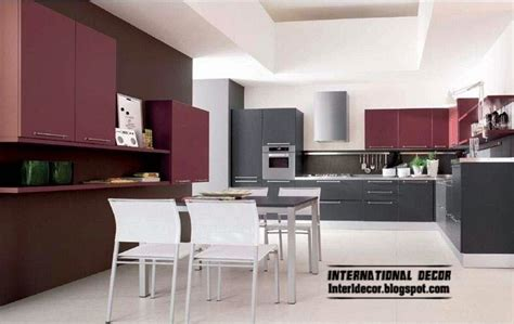 modern kitchen design 2014 purple kitchen interior design and contemporary kitchen