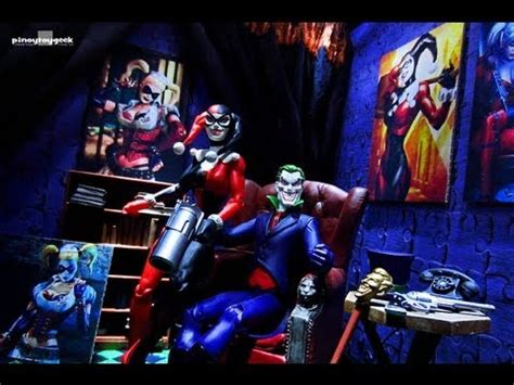 joker s fun house dc universe joker fun house art museum batman robin youtube