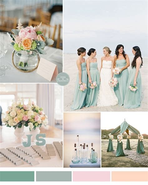 50 Stunning Beach Wedding Color Ideas for this Summer