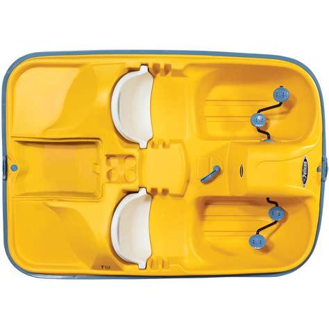 pedal boat yellow pelican fuji pedal boat yellow white 206264 boats