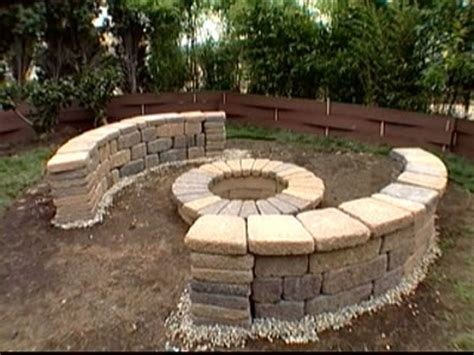 fire pit bench fire pit diy ideas diy