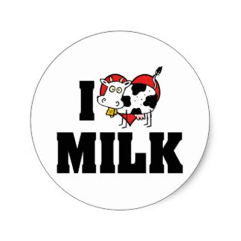 images of love dairy milk cow stickers zazzle