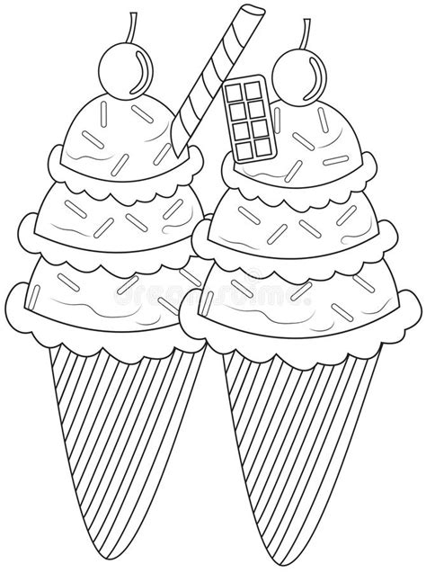 ice cream sandwich coloring page ice cream sandwich coloring pages sketch coloring page