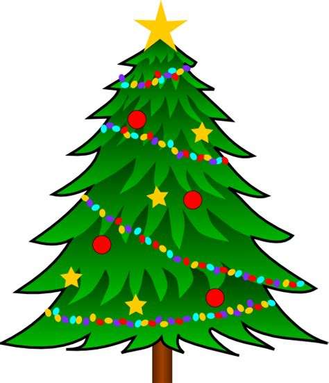 christmas tree christmas tree clip art at clker com vector clip art
