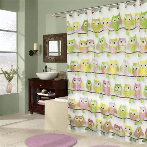 owl peva shower curtain 41 best images about bath on pinterest home fashion