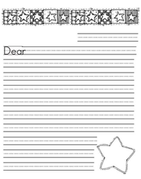 blank letter writing paper blank letter paper for elementary students