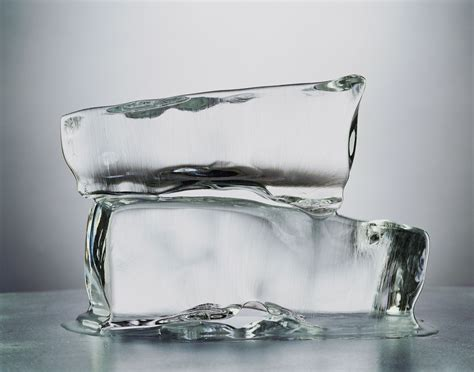 Block L Appears To Be A Melting Cube by How Salt Melts And Prevents Water From Freezing