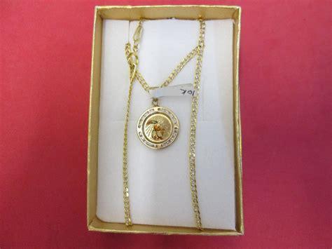cadena de oro 10 kilates precio mexico cadenas y medallas bautizo de ni 241 o oro de 10 kilates