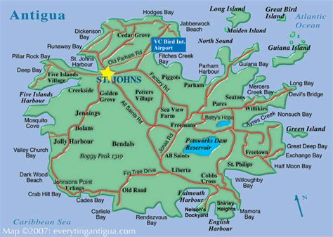 antigua map antigua real estate property sales oceanfront homes villa rentals jolly harbour