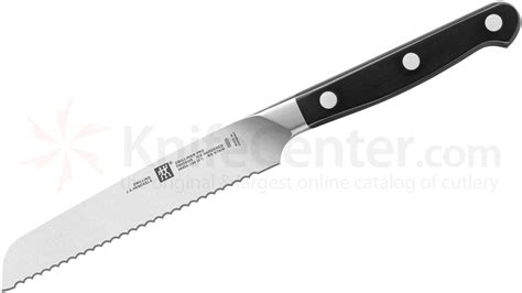 Kitchen Utility Knives zwilling j a henckels pro 5 quot serrated utility knife