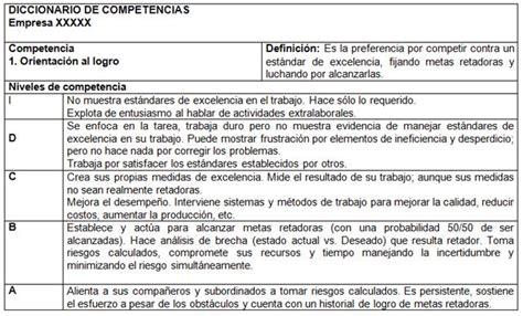 preguntas genericas y especificas gesti 243 n de recursos humanos basado en competencias