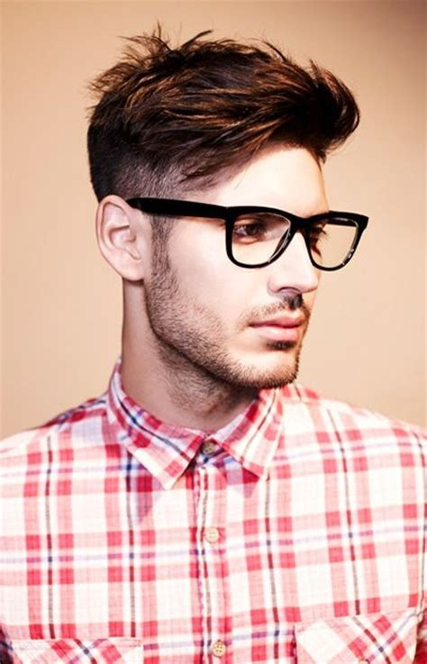 haircuts for guys with glasses with side 2016 best hairstyle ideas for with glasses s