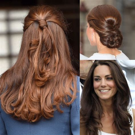 how does the look hair style look kate middleton s looks and her incredible metamorphosis consulente di immagine rossella