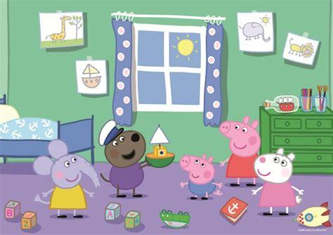 tappeto puzzle peppa pig peppa pig 35 puzzle peppa pig puzzles net